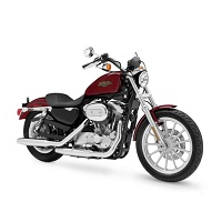 HARLEY DAVIDSON SPORTSTER XL883 MOTORBIKE COVER