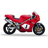 DUCATI 888 MOTORBIKE COVER