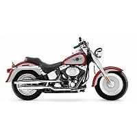 HARLEY DAVIDSON FATBOY MOTORBIKE COVER