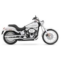 HARLEY DAVIDSON SOFTAIL MOTORBIKE COVER