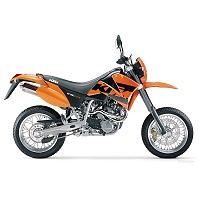 KTM 640 SUPERMOTO MOTORBIKE COVER