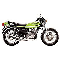 KAWASAKI KH250 MOTORBIKE COVER