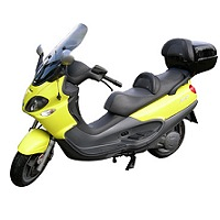 PIAGGIO VESPA X9 WITH BOX SCOOTER MOTORBIKE COVER