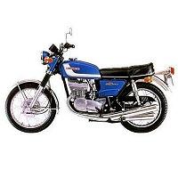 SUZUKI GT MOTORBIKE COVER