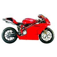 DUCATI 999 MOTORBIKE COVER