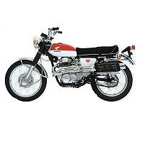HONDA CL MOTORBIKE COVER