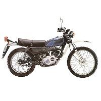 KAWASAKI KE125 MOTORBIKE COVER